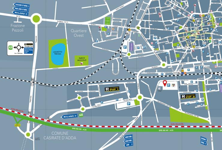 Mappa Fiera di Treviglio